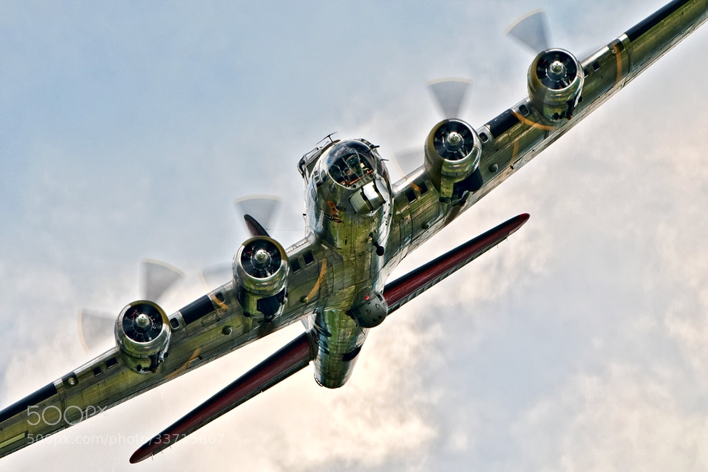 Photograph Bomber approaching! by Darek Siusta on 500px