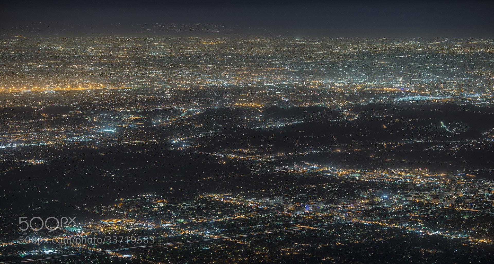 Photograph LA in night by daniel vojtech on 500px
