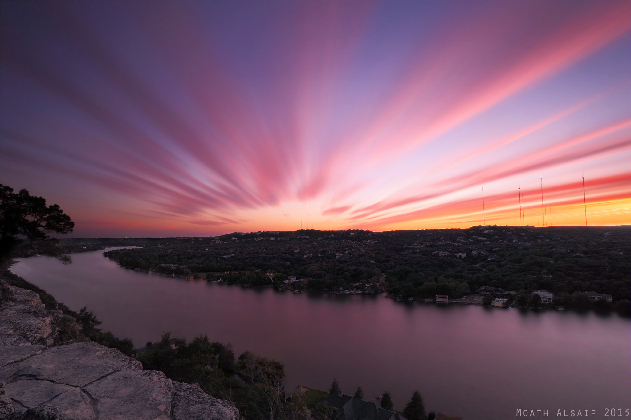 Photograph  ‪Mount Bonnell‬ by Moath Alsaif on 500px