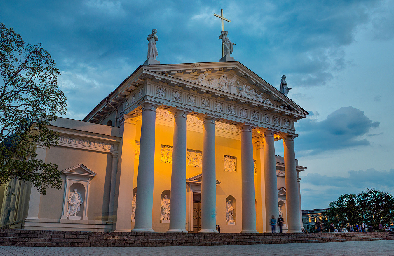 Photograph Cathedral of Vilnius by Norbert Durko on 500px