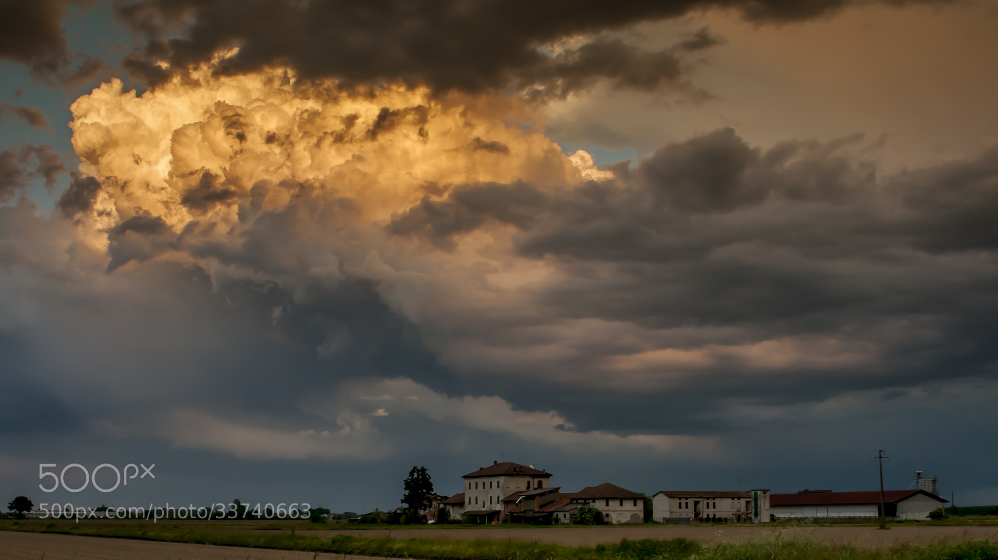 Photograph sunset by Riccardo Trevisani on 500px
