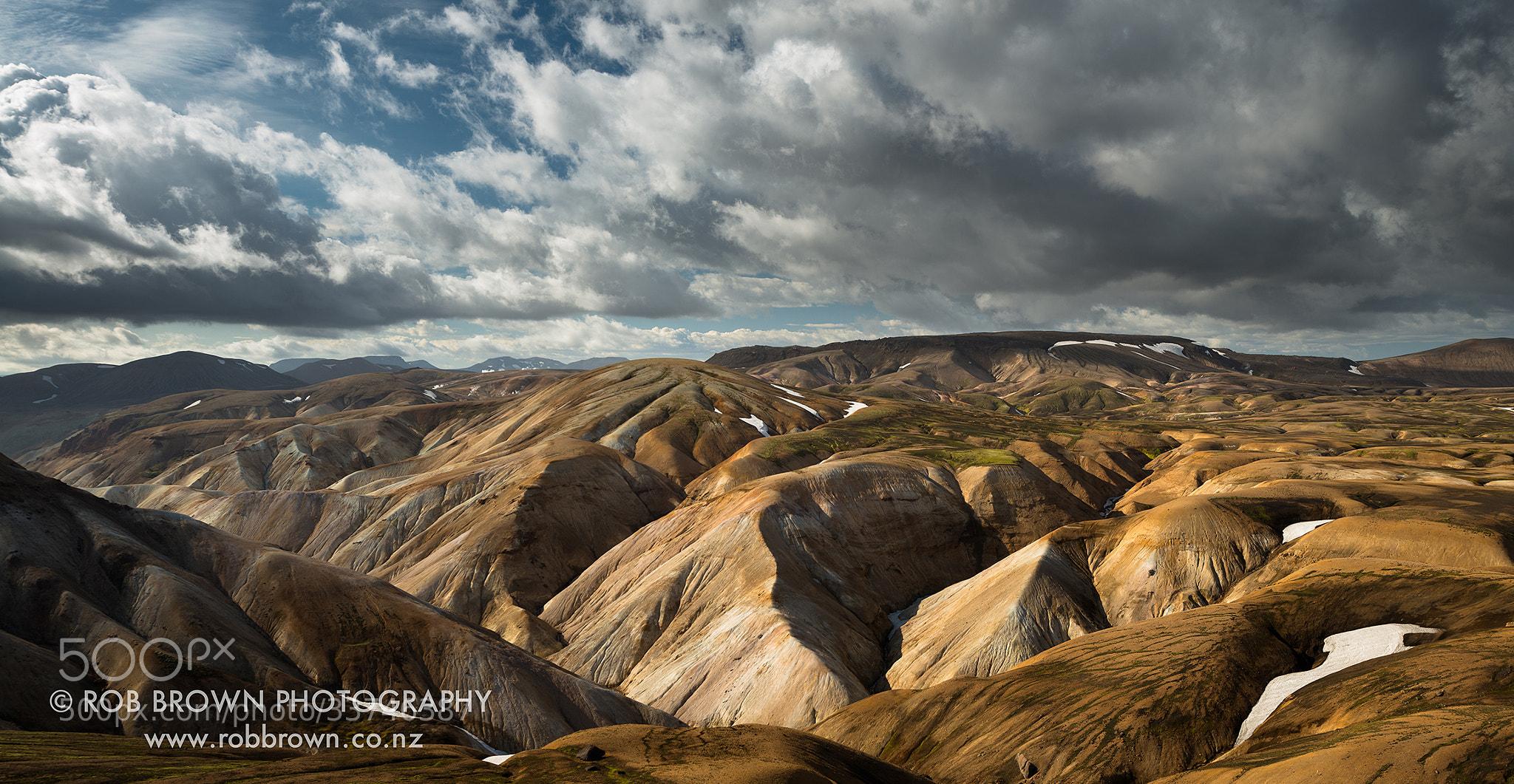 Photograph Highlands near Hrafntinnusker by Rob Brown on 500px