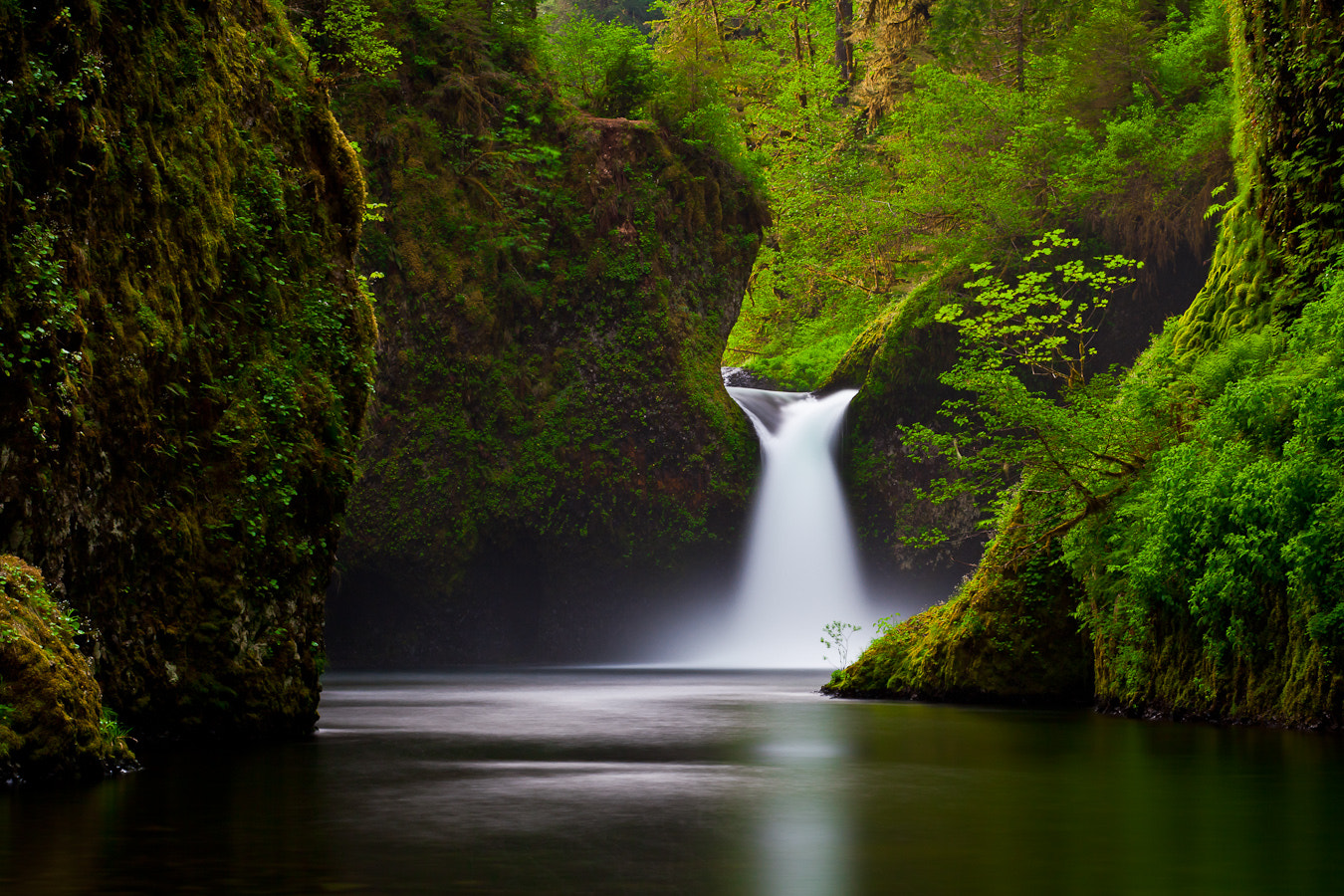 Photograph Punch Bowl Falls Saturday by Brian Pemberton on 500px