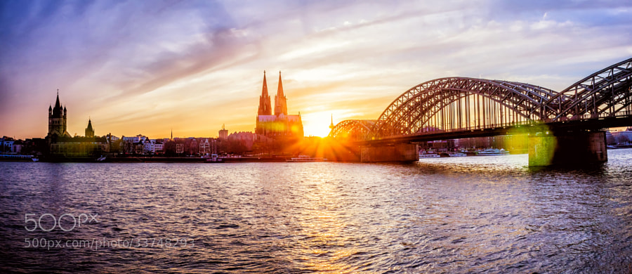 Sunset at the Dom by Jacob Samuel (jacobphotography)) on 500px.com
