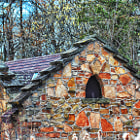 This is the original spring house in Whiting Wisconsin. It was build in the early 1900s