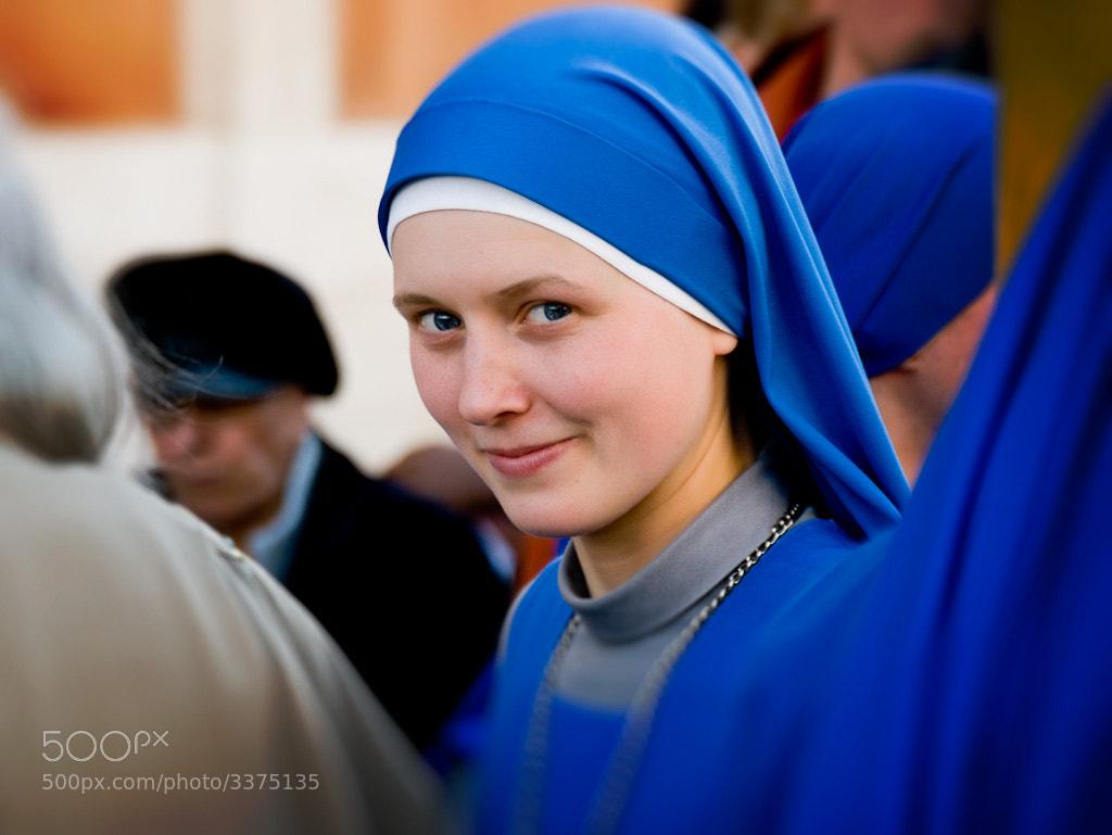 Photograph The Blue Nun by John Armstrong-Millar on 500px