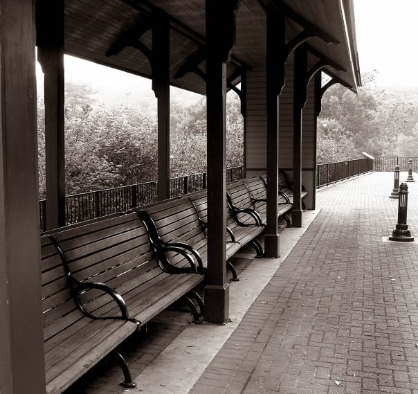 Photograph Train Stop  by JC McGreehan on 500px