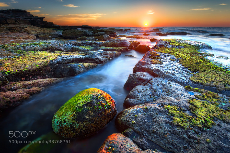 Photograph Sunrise @ North Maroubra by MONSTERMICKY ! on 500px