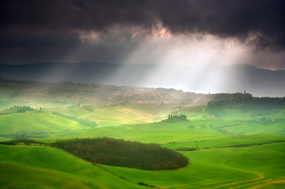 Photograph Illuminated San Quirico by Marcin Sobas on 500px