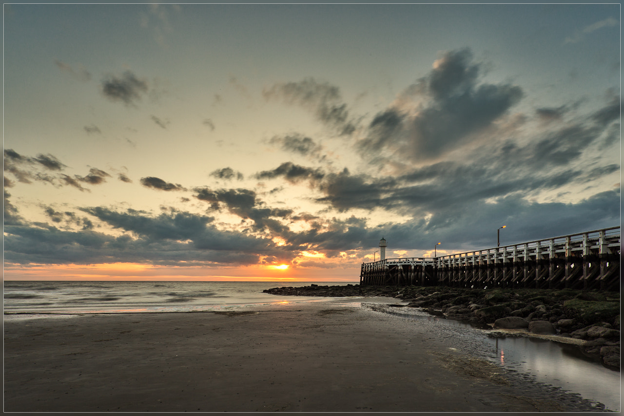 Photograph Sunset Nieuwpoort by Christophe Vandeputte on 500px