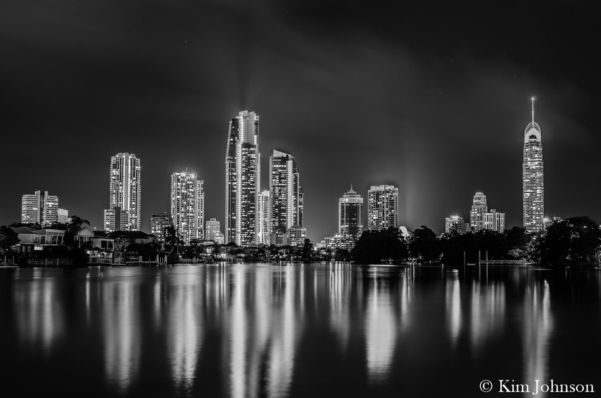 Photograph Surfers Paradise by night by Kim Stecina on 500px
