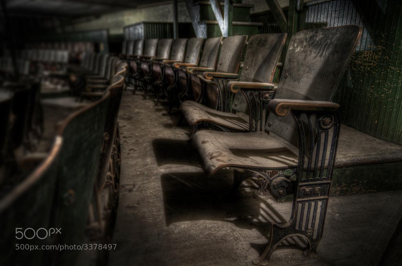 Photograph Empty Seats by Frank Grace on 500px