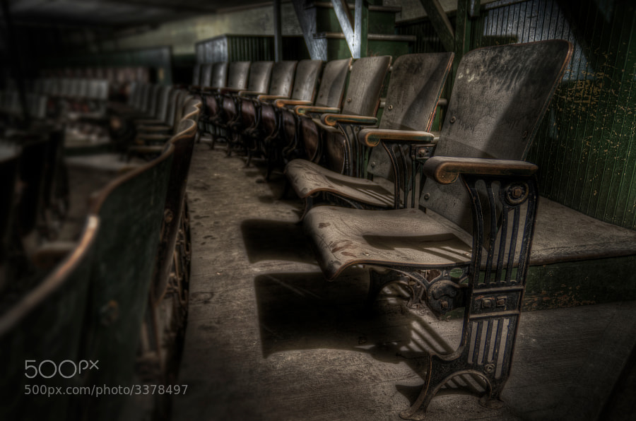 Photograph Empty Seats by Frank Grace on 500px