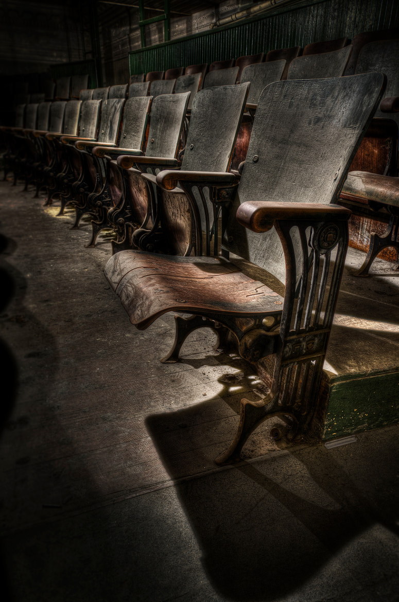 Photograph The Open Chair by Frank Grace on 500px