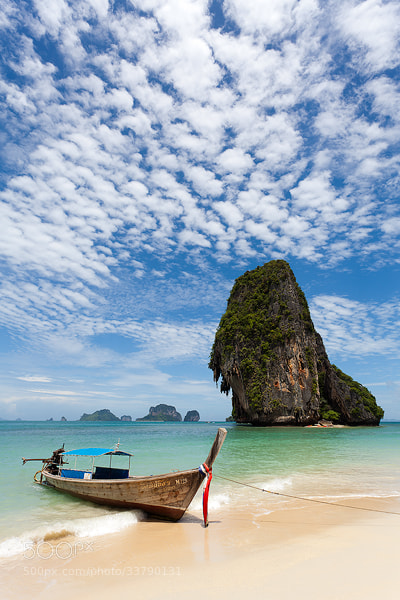 Photograph Phra Nang Beach, Railay, Thailand by Russell Pike on 500px