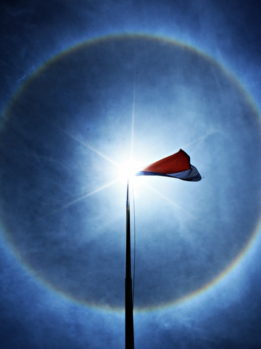 Photograph Flag of My Country by Agus Nonot Supriyanto on 500px