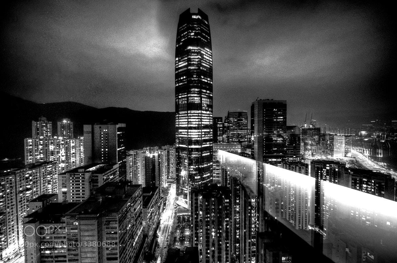 Photograph Celestial City BW Multiply by Jon Sheer on 500px