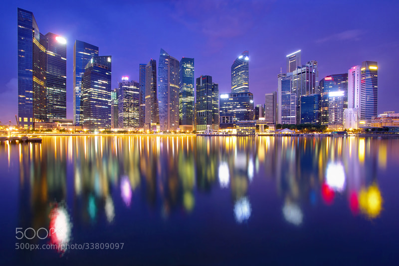 Photograph The Night The Lights Stayed On by WK Cheoh on 500px