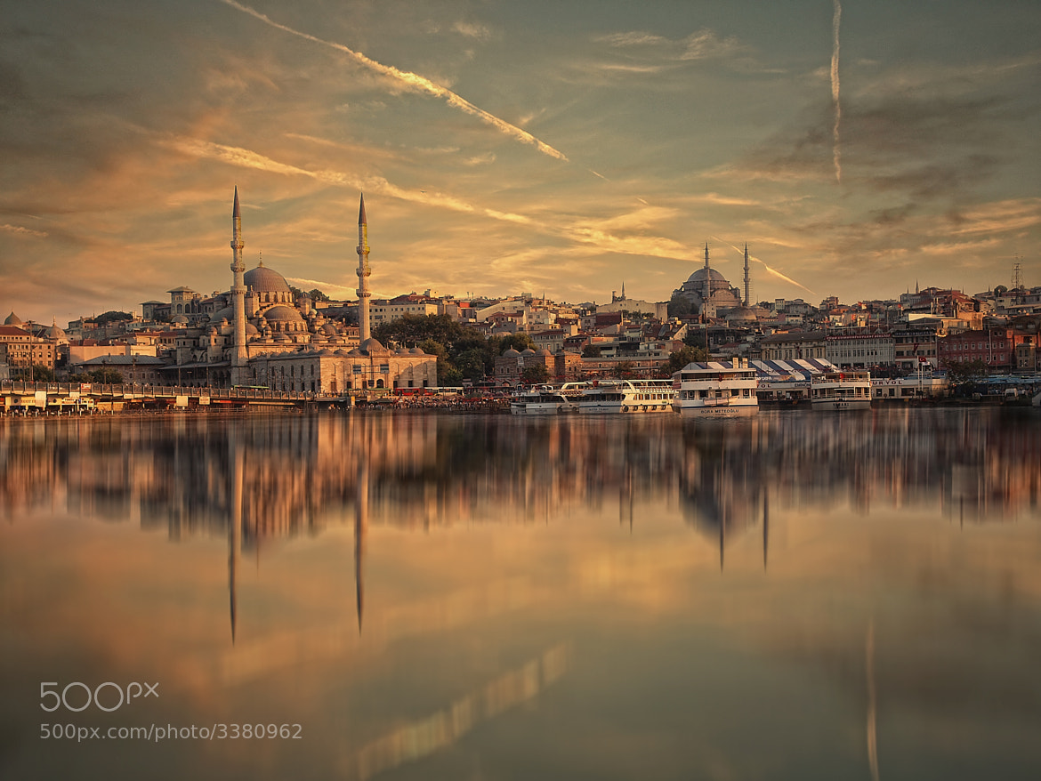 Photograph Sunset over Golden Horn by Albena Markova on 500px
