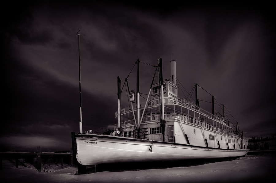Photograph Ghost Ship by Dan Newcomb on 500px