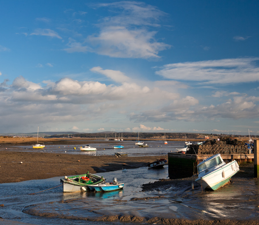 Photograph Boats at Keyhaven by lee-jon on 500px