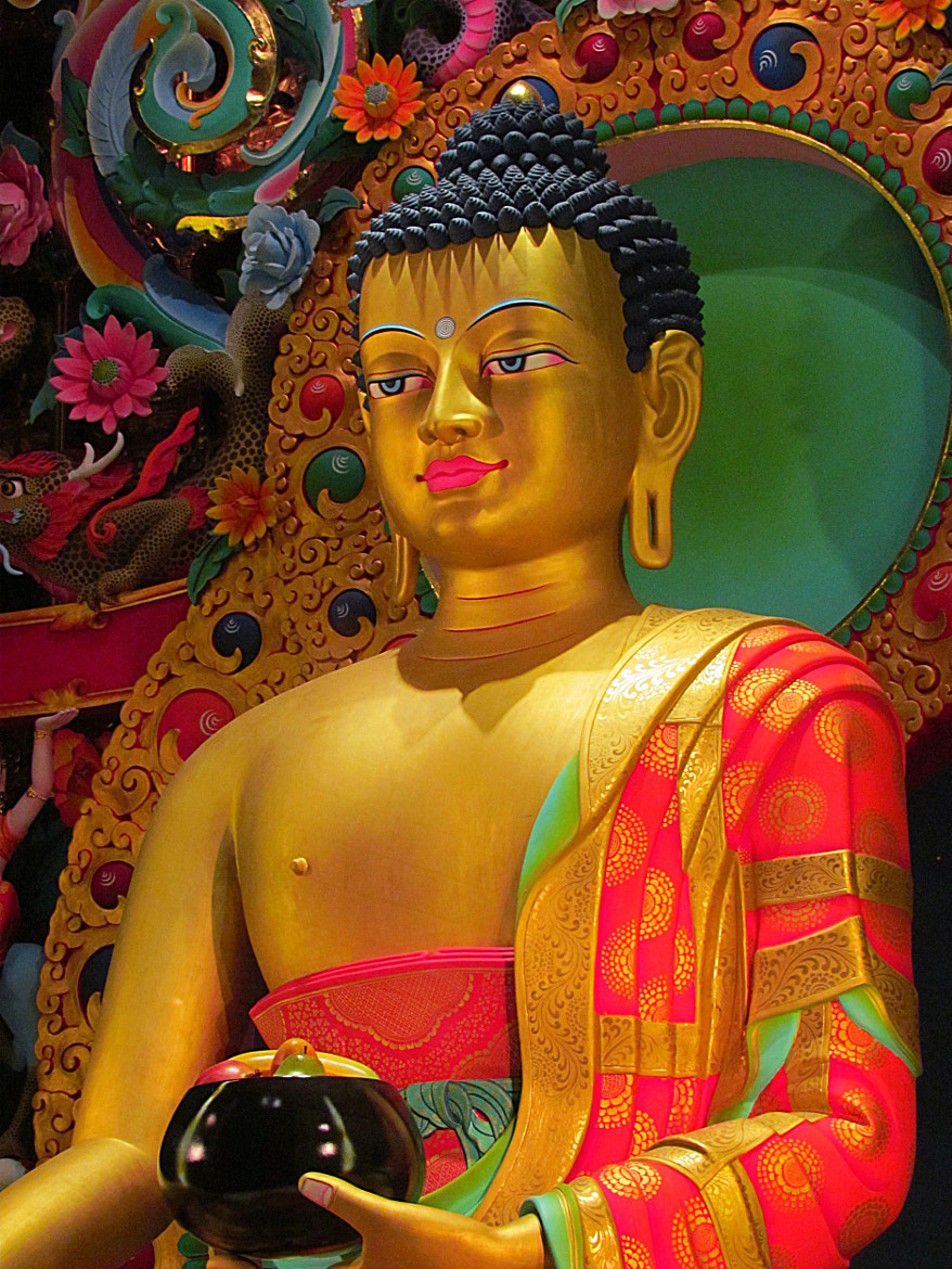 Photograph Smile of the Buddha by Steve Brailsford on 500px