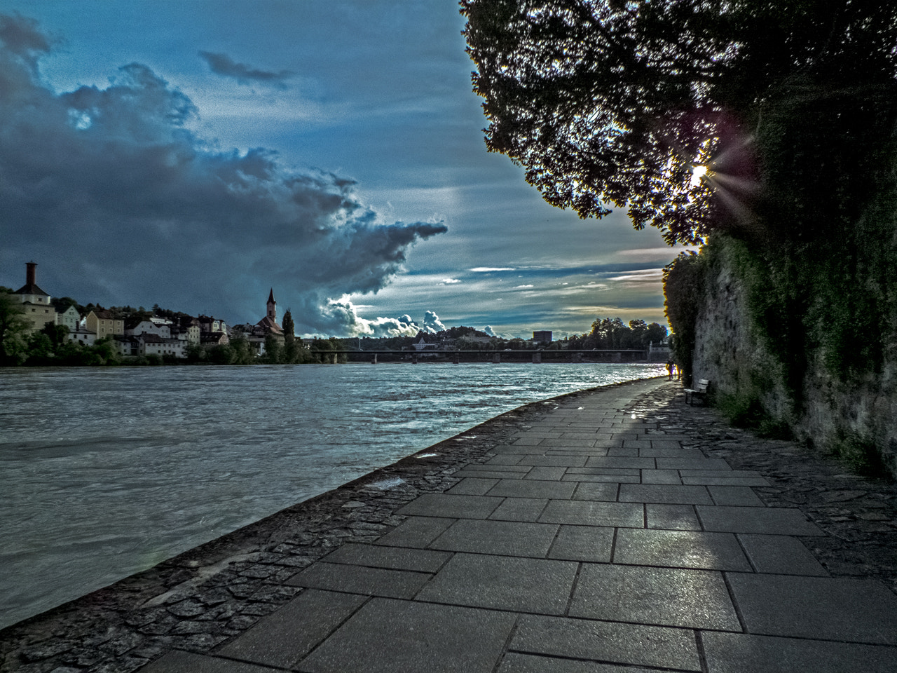 Photograph River Inn by Passau (Germany) by DHα Photography on 500px