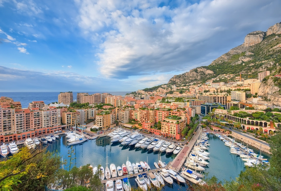 Port of Fontvieille @ Monaco (French Riviera) by Eric Rousset on 500px.com