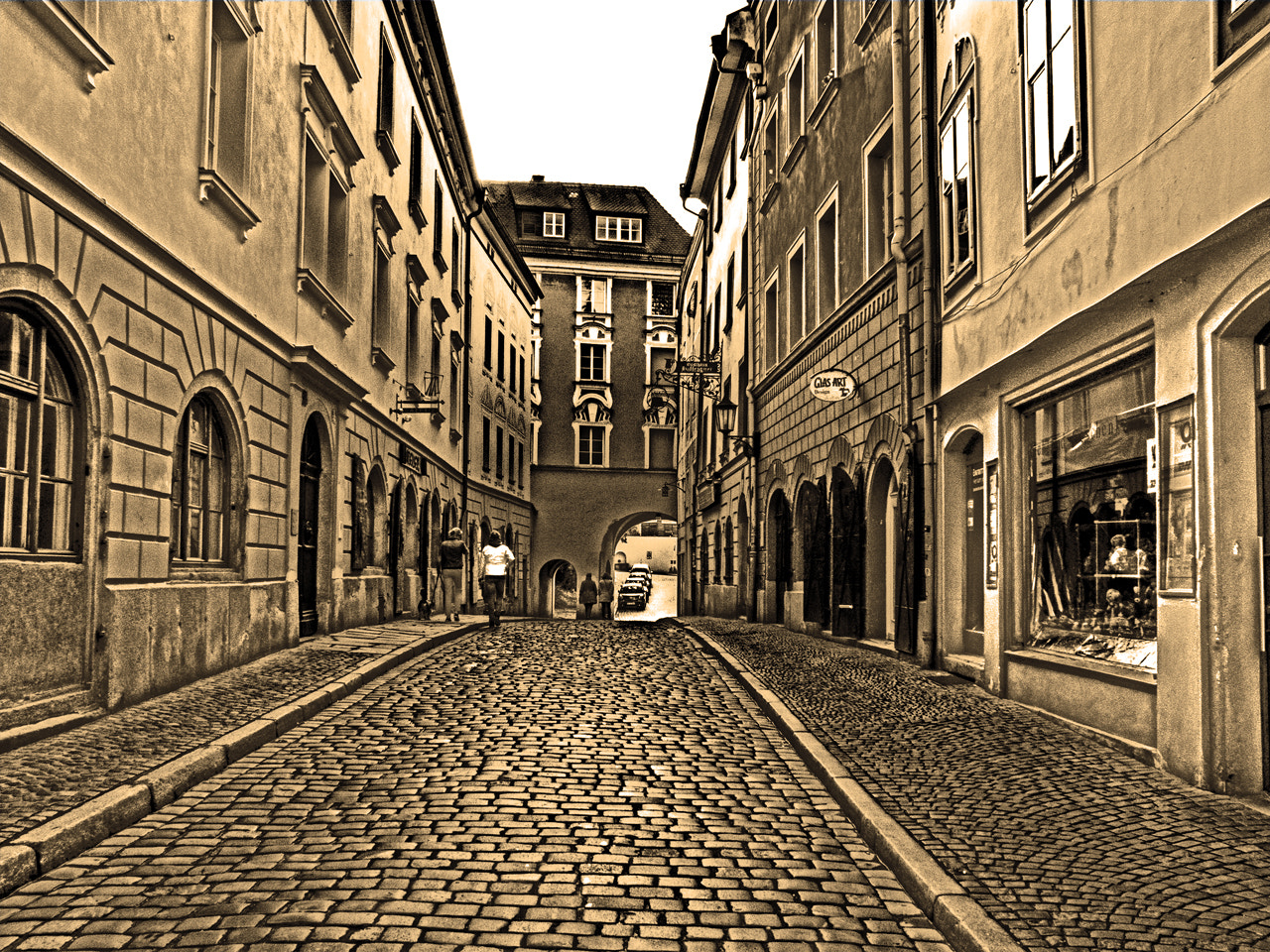 Photograph Passau Street (Germany) by DHα Photography on 500px