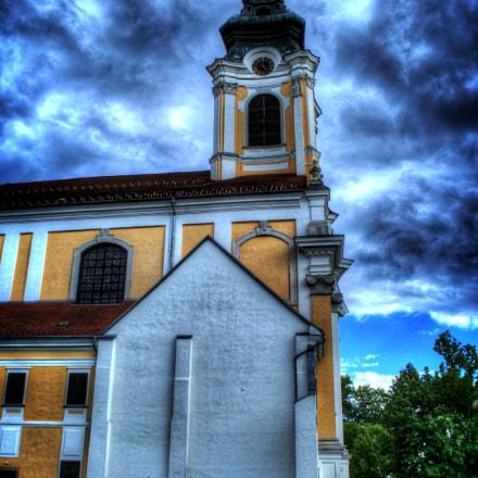 Szentgotthard Church HDR