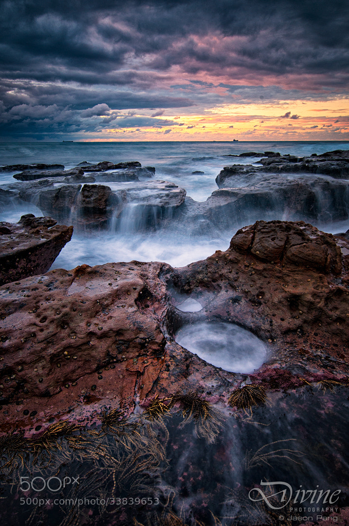 Photograph Sunrise at Coalcliff by Jason Pang on 500px