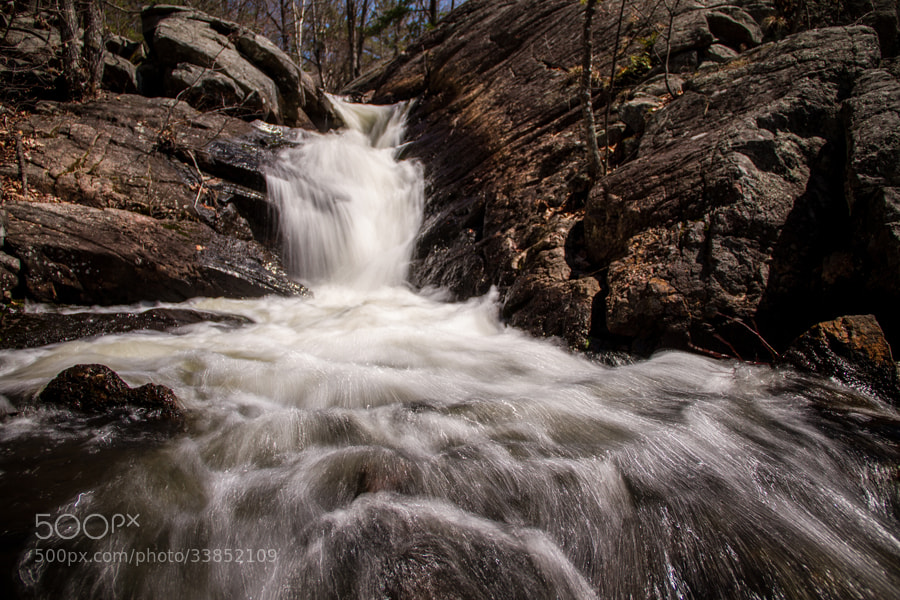 Photograph Waterfall by Maxwell Danger on 500px