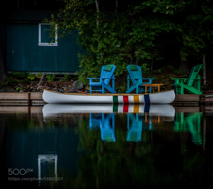 Photograph Hudson Bay Canoe by Maxwell Danger on 500px