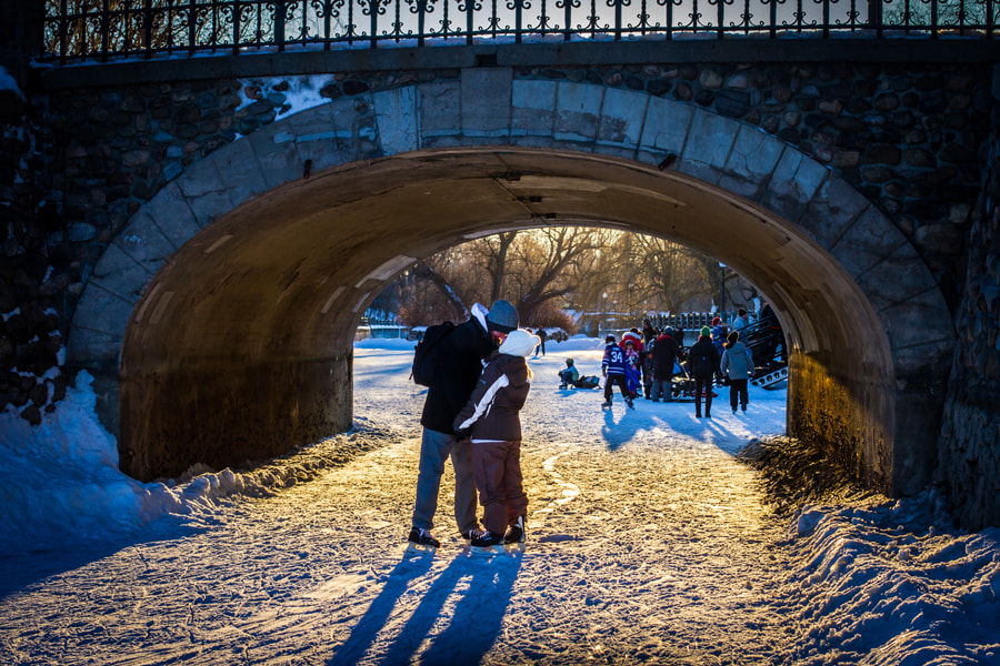 Photograph Kiss under a bridge by Maxwell Danger on 500px