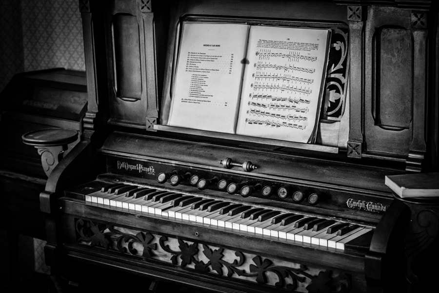 Photograph Piano by Maxwell Danger on 500px
