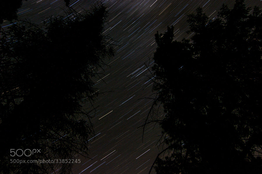 Photograph Star Trails by Maxwell Danger on 500px