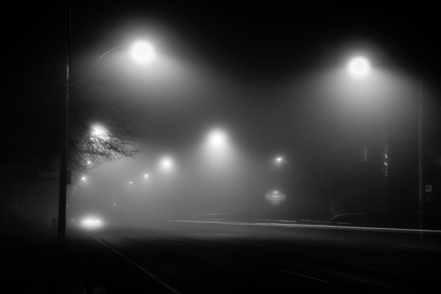 Photograph Foggy Street by Maxwell Danger on 500px