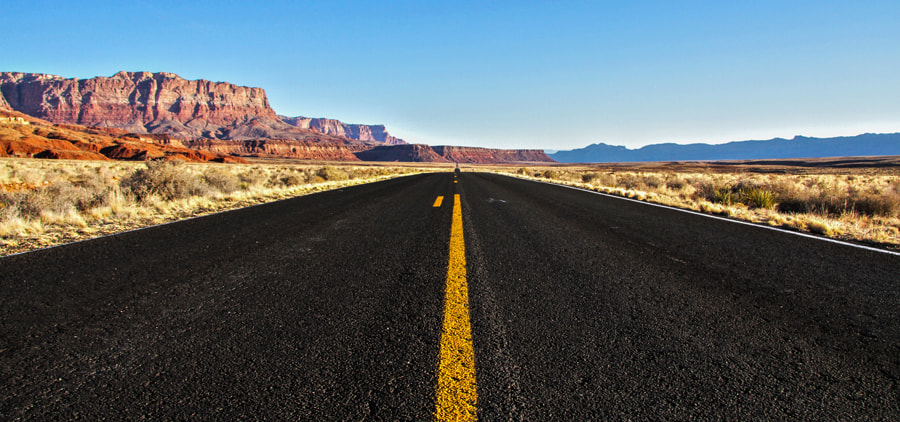 Photograph The Road by Maxwell Danger on 500px