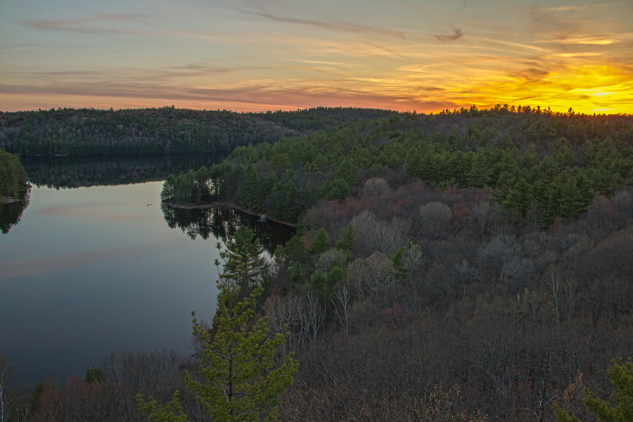 Photograph Triangle Lake Sunset by Maxwell Danger on 500px