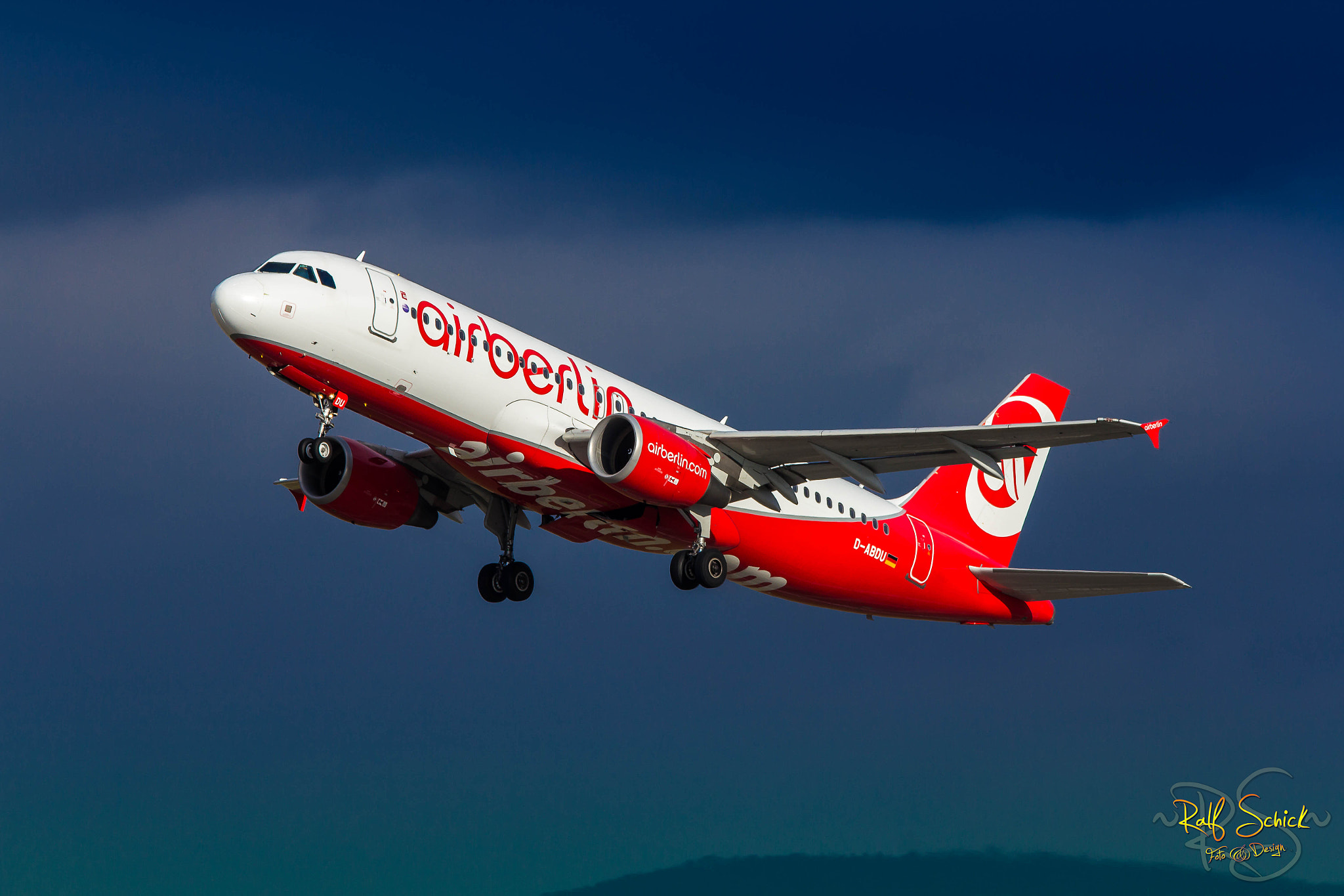 Photograph Air Berlin by Ralf Schick on 500px