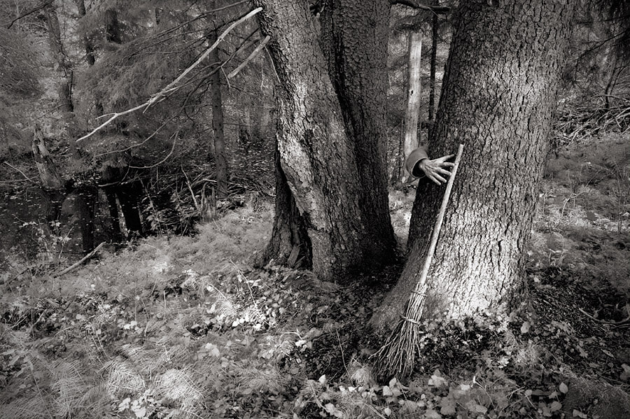 Photograph Застенчивая Бaба-Ягa / Uncut Blair Witch Project by Ugly John on 500px