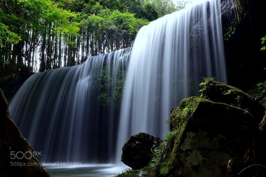 Photograph Silk waterfall by yoshi ?? on 500px