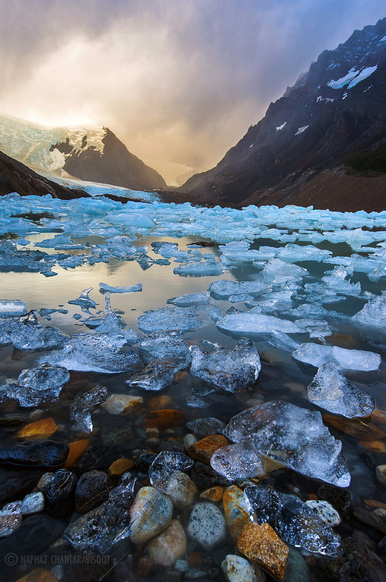 Photograph Laguna Torre with Ice by Nae Chantaravisoot on 500px