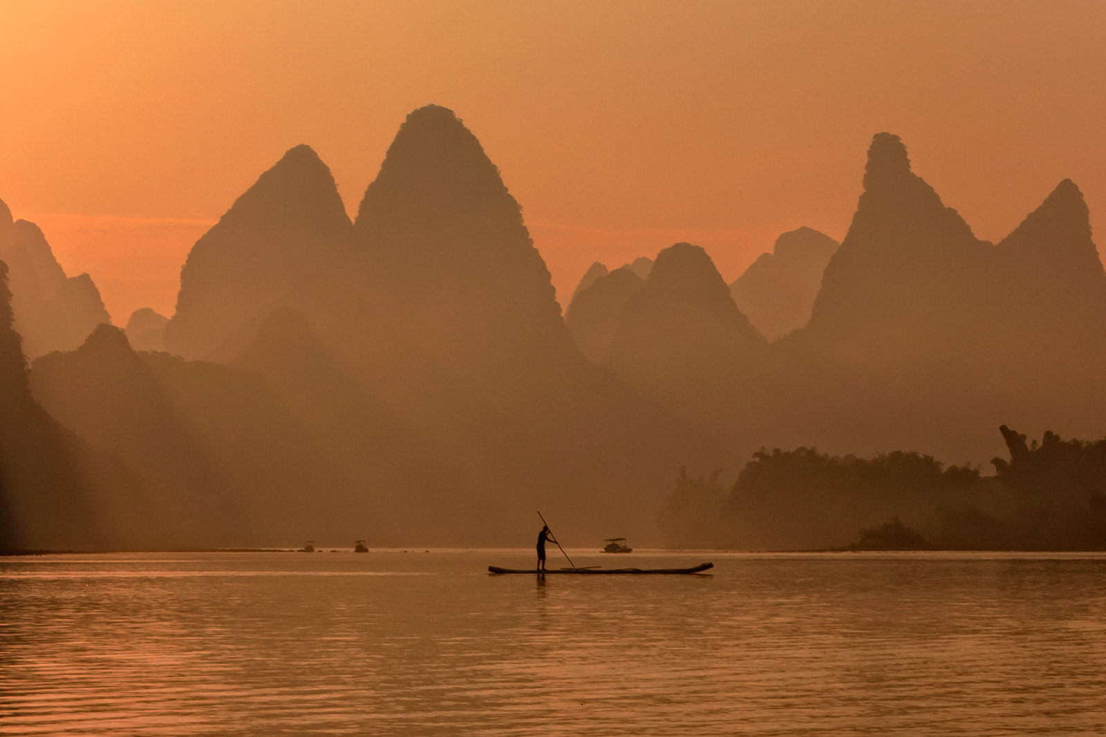 Photograph Li River Sunrise by Helminadia Ranford on 500px