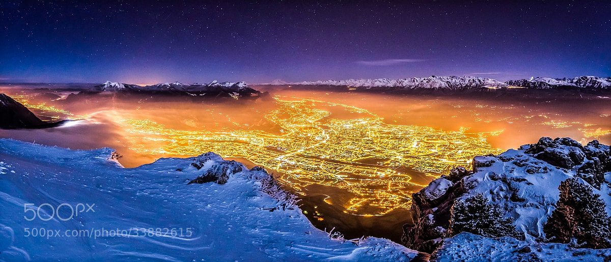 Photograph Grenoble by night by Joris Kiredjian on 500px