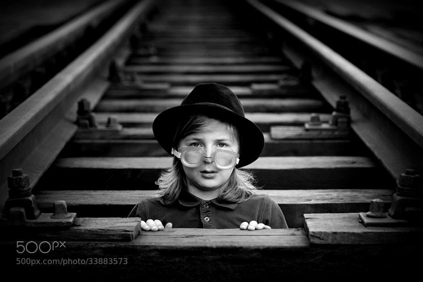 Photograph railway professor by Sebastian Luczywo on 500px