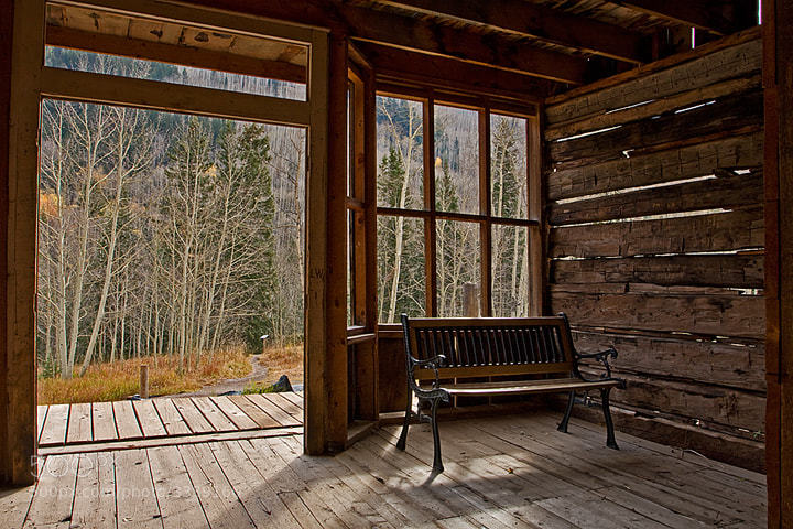 Photograph Ghost Town Interior by Cynthia Spence on 500px