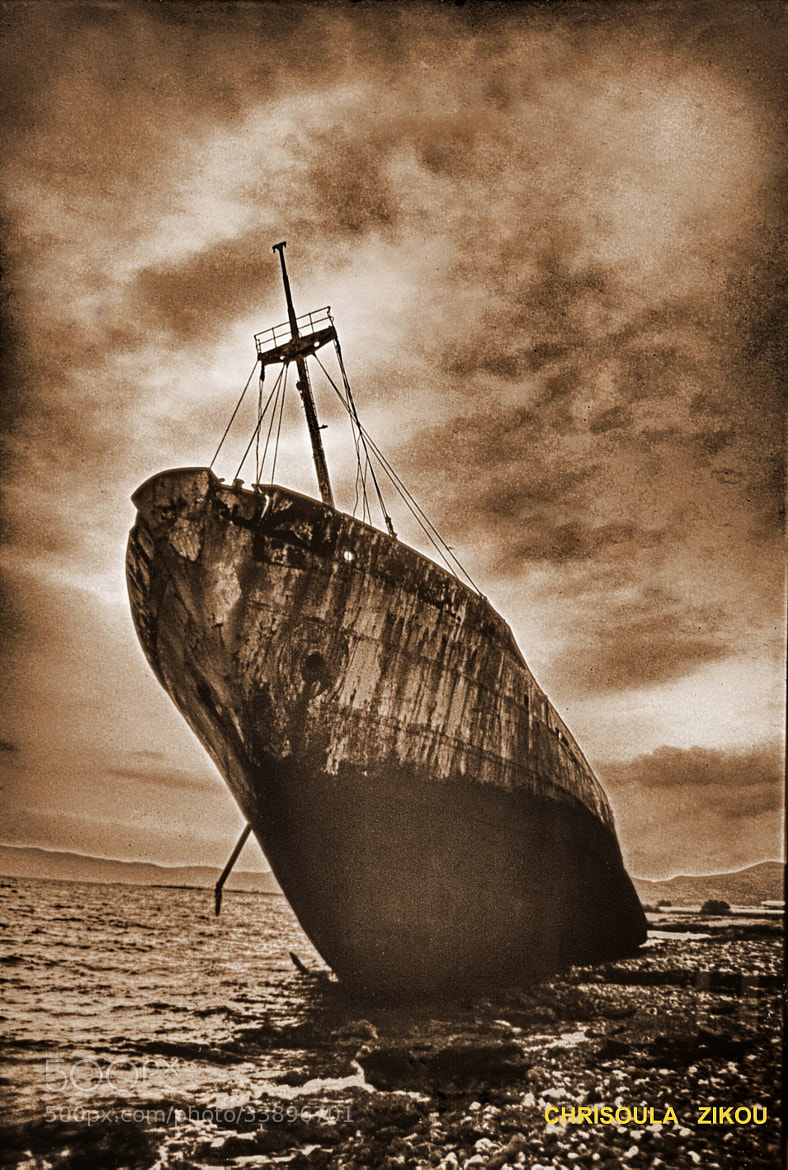 Photograph WRECK by Chriss Zikou on 500px