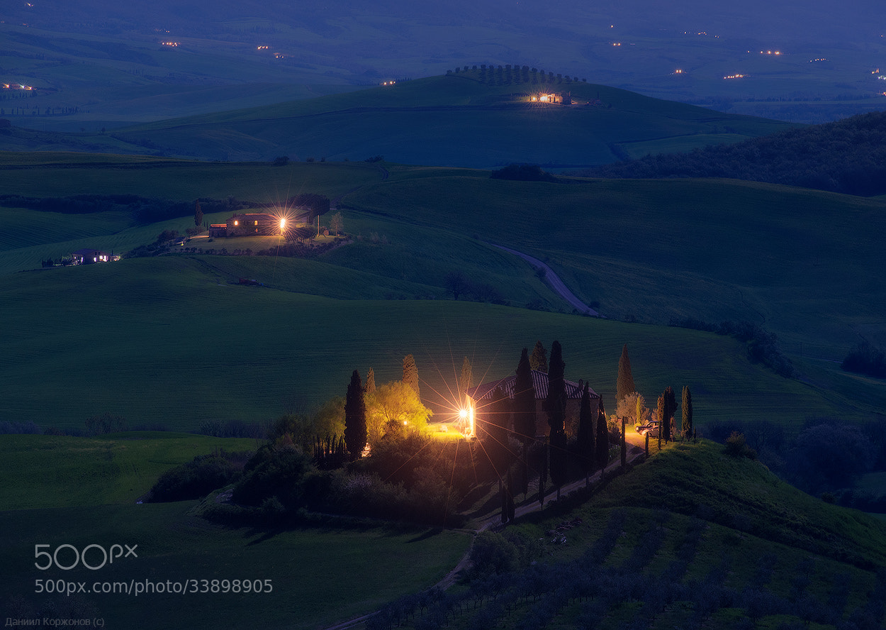Photograph Night Tuscany by Daniel Korzhonov on 500px