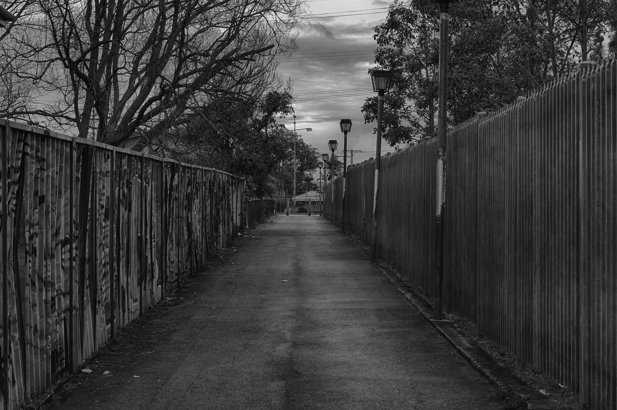Photograph Alleyway to Bray Park Station by Trevor Gensch on 500px